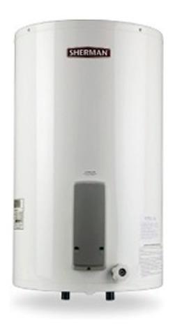 termotanque electrico sherman 85 litros de colgar inferior