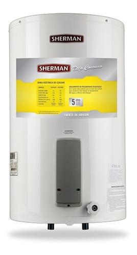 termotanque electrico sherman - 85 lts - conexion inferior