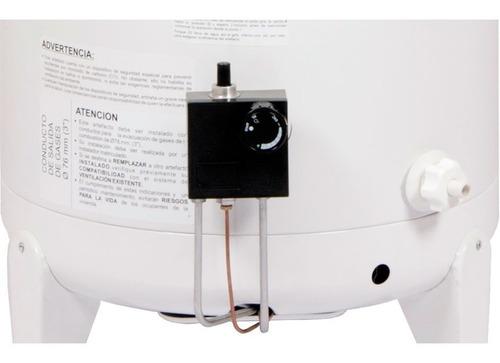 termotanque escorial 120 litros multigas de colgar y apoyar
