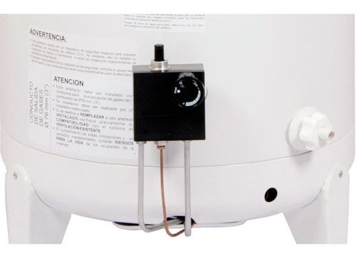 termotanque escorial 45 litros multigas de colgar