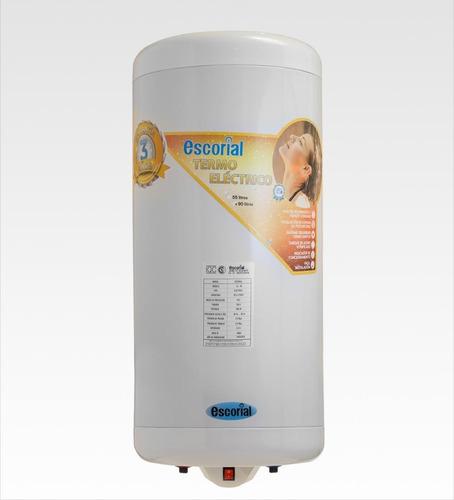 termotanque escorial 90 litros elect inferior promo cuotas