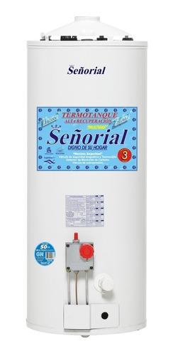 termotanque gas señorial 50 litros alta recup selectogar