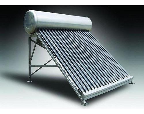 termotanque heat pipe 200 litros de acero inoxidable