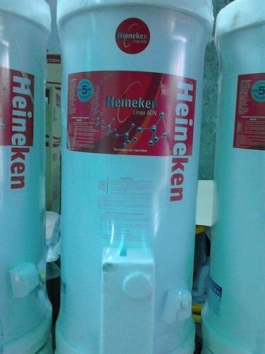 termotanque heineken gas natural 80 lts -de pie - conex sup