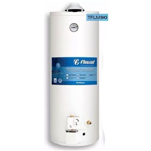 termotanque multigas fluvial gas tflm 90 l colgar apoy envio