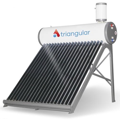 termotanque panel tubos solar calefon triangular 200 lts