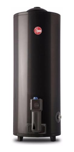 termotanque rheem 80 litros gas aee de pie superior promo cu