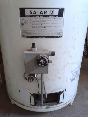 termotanque saiar 130 lts