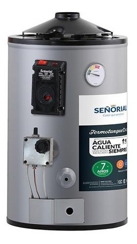 termotanque señorial 30 litros dual gas / eléctrico