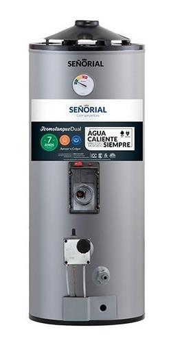 termotanque señorial 50 litros dual gas / eléctrico