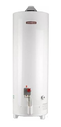 termotanque sherman 120 litros a gas de pie carga superior