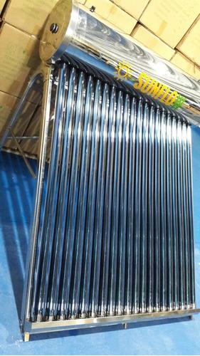 termotanque solar 100% acero inox 200l córdoba importador