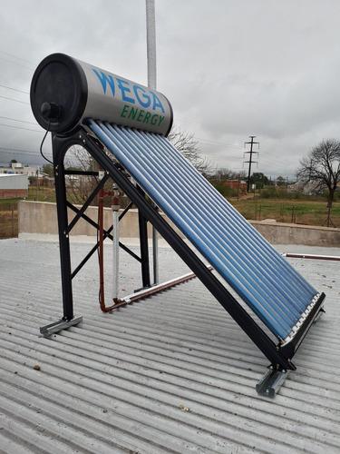 termotanque solar 120 litros + resistencia + anodo magnesio