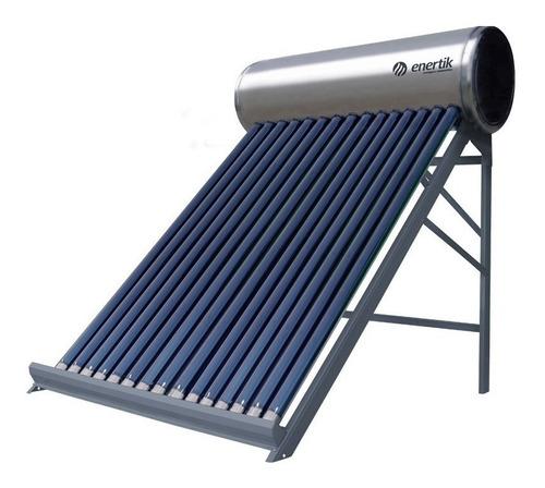 termotanque solar 150 litros + antisarro - acero inoxidable