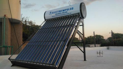 termotanque solar 150 litros con antigranizo y ánodo