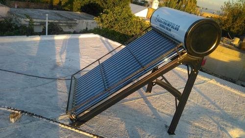 termotanque solar 200 litros + ánodo + antigranizo