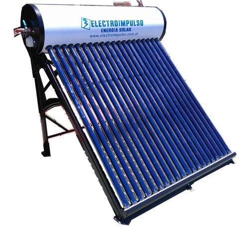 termotanque solar 200 litros litros + ánodo + resistencia
