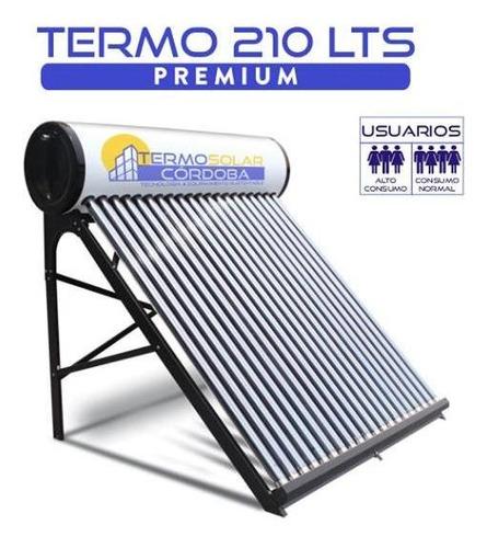 termotanque solar 210 lts atmosférico de acero galvanizado