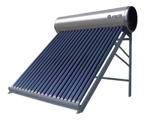 termotanque solar 250 litros + antisarro - acero inoxidable