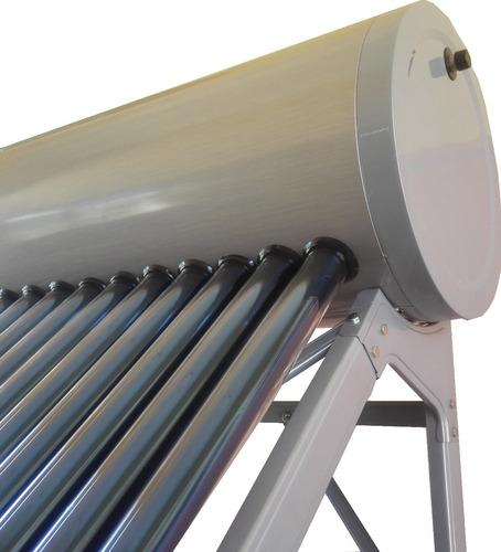 termotanque solar 250 lts., kit eléctrico, timer, antisarro