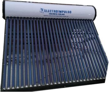 termotanque solar 300 litros con ánodo anticorrosión