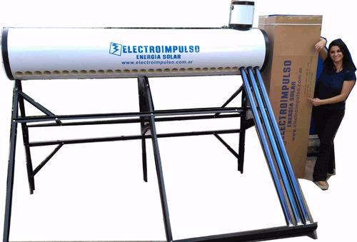 termotanque solar 300 litros - electroimpulso