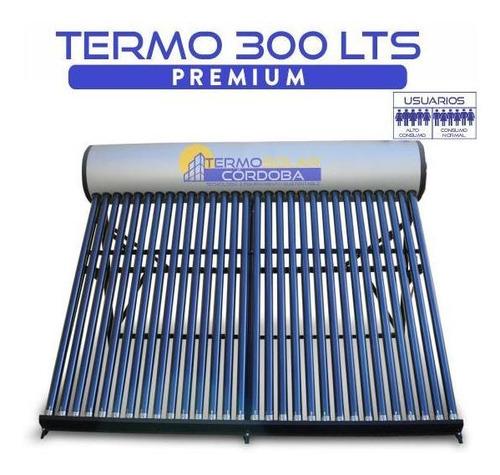 termotanque solar 300 lts atmosférico de acero galvanizado