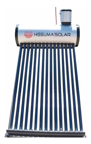 termotanque solar hissuma solar 360 litros + kit electrico + barra de magnesio antisarro + envió gratis a todo el país