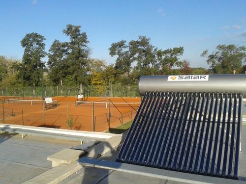 termotanque solar saiar 200l presurizable 24 tubos heat pipe