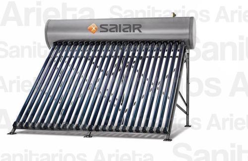 termotanque solar saiar presurizado bajo consumo de 200 lts.