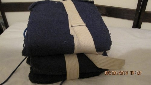 termoterapia de 6 canales demik con fundas de toallas