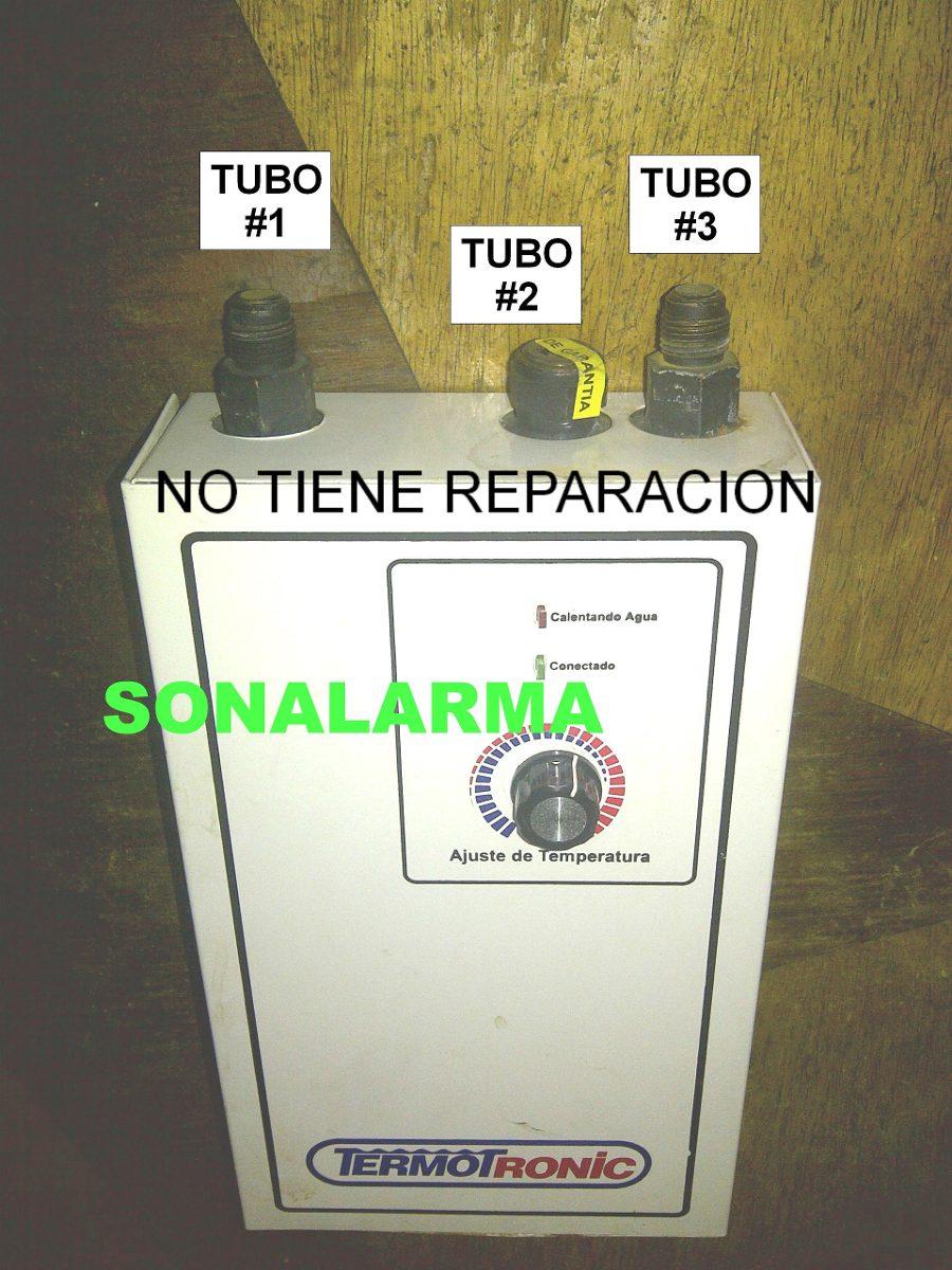 Termotronic calentador de agua electrico 220v reparacion - Calentador electrico de agua precio ...