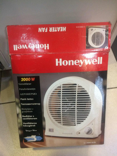 termoventilador honeywell 2000w, 220v