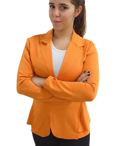 terninho blazer feminino em cores variadas atacado kit c/4