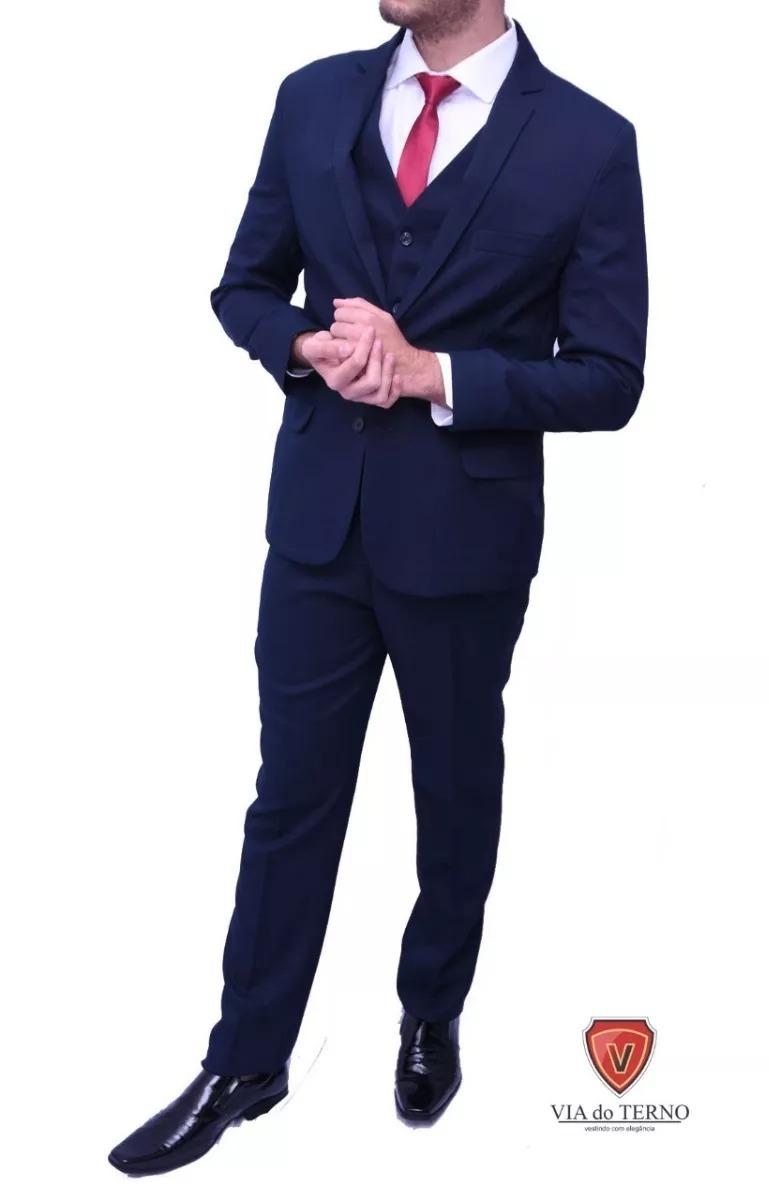 2fcc5d37d6 terno azul marinho oxford italiano+5 cores oferta!! Carregando zoom.