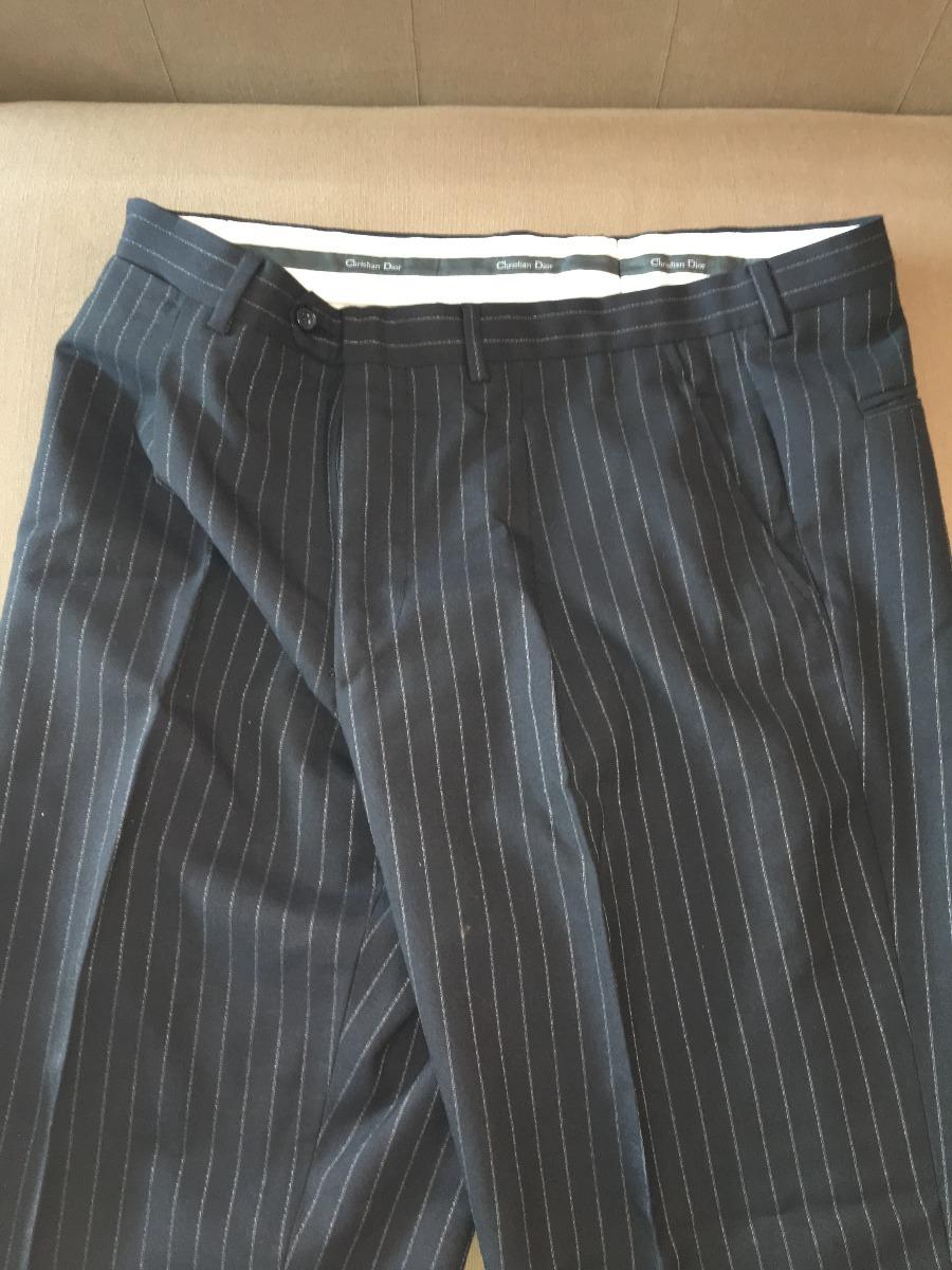 0402d14fed1 terno christian dior preto com listras brancas. Carregando zoom.