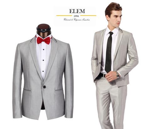 terno ejecutivo negro fit slim