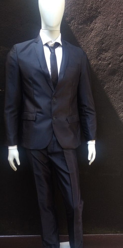 terno luxo corte italiano slim fit masculino brilho + capa