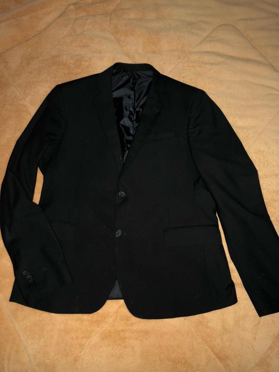 terno masculino calvin klein original preto slim tamanho 56. Carregando  zoom. 328e71a1df