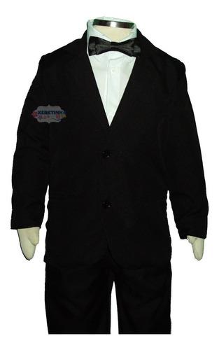 terno masculino infantil conjunto completo camisa gravata