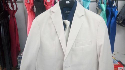 terno masculino slim gabardine top-line areia