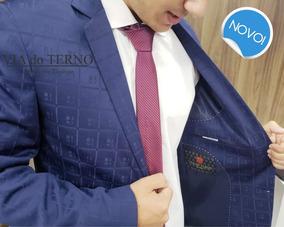 fe74105b42 Terno Azul Marinho Microfibra - Ternos no Mercado Livre Brasil