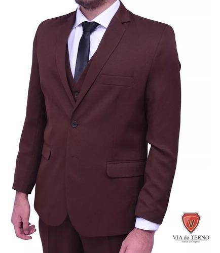 terno slim masculino blazer+calça mega promoção