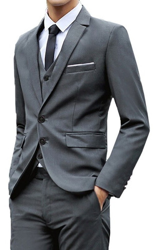 terno slim masculino oxford  com garantia