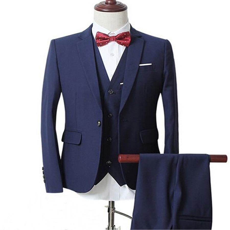 41d7c08768 terno slim masculino oxford cor azul marinho. Carregando zoom.