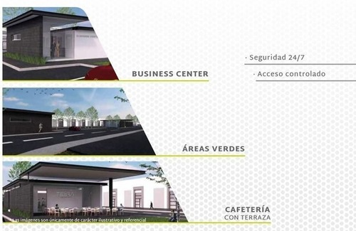 terra business park,terreno plano de 360m2
