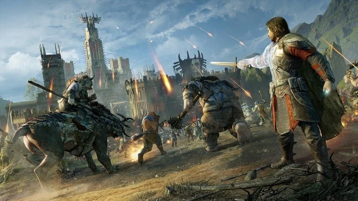 Terra Média Sombras Da Guerra Xbox One Mídia Física Promoção - R$ 100,00 em  Mercado Livre