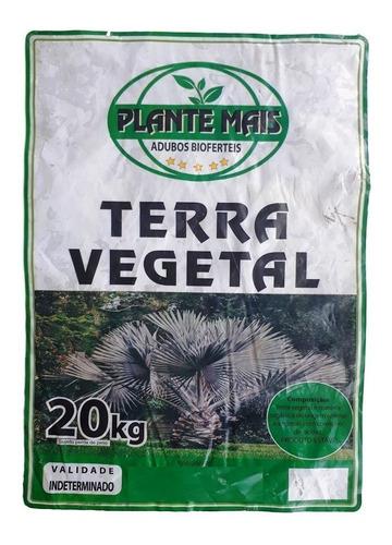 terra preta vegetal adubada - 10 saco de 20 kg cada = 200 kg