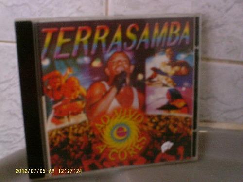 terra samba - ao vivo e a cores - cd