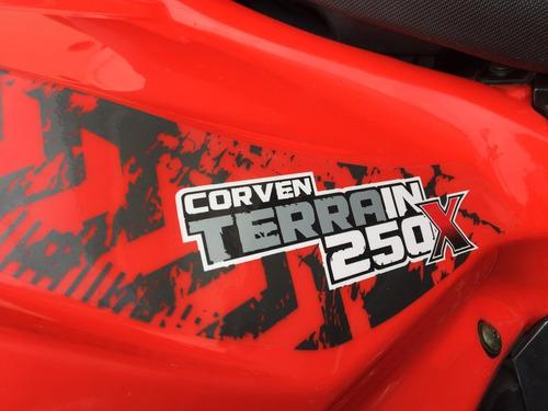 terrain 250 cuatriciclo corven